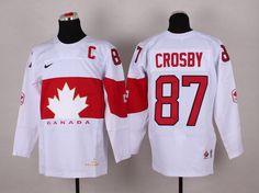 NHL Winter Olympics Canada Hockey Jerseys 03