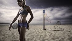 Morgan - Beach Volleyball by Joel Grimes Photography, via Flickr