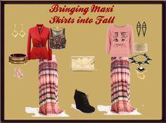 Bringing Maxi Skirts into Fall