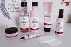 The next part of your natural charm regimen is to exfoliate. Gently exfoliating to eliminate flaky, dead skin from your face and body will leave you radiant and feeling refreshed. Body Shop At Home, The Body Shop, Body Shop Skincare, Body Shop Vitamin E, Hydrating Toner, Best Face Products, Body Shop Products, Facial Wash, Face Skin Care