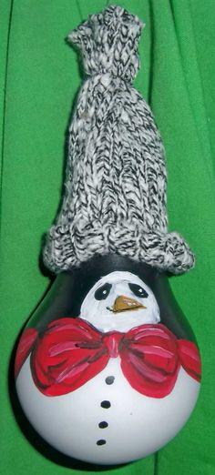 Light bulb ornament: bow tie penguin $8. Lightbulb Ornaments, Penguin Ornaments, Painted Ornaments, Diy Christmas Ornaments, Christmas Holidays, Christmas Decorations, Recycled Light Bulbs, Painted Light Bulbs, Light Bulb Art