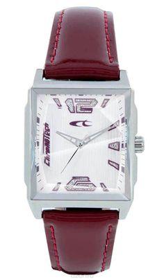 Наручные часы женские Chronotech Uptown, цвет: бордовый. RW0058