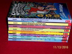 Captain Underpants Series 1-8 Starter Set Level 3 Chapter Books Dav Pilkey #Scholastic