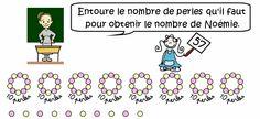 Cours de maths CE1 - Les nombres de 40 à 80 - Maxicours.com