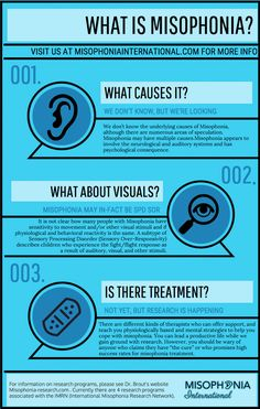 What is Misophonia Infographic