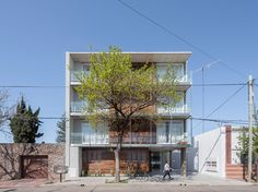 Built by Claudio Walter Arquitectos Asociados in Rafaela, Argentina with date 2012. Images by Ramiro Sosa. Rafaela is a small city of 100,000 inhabitants of the interior of Argentina, with a strong metalworking industry and ...