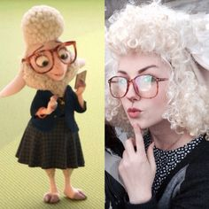 My Dawn Bellwether cosplay is coming Cosplay By Anna Berten or taoberten on tumblr #cosplay #zootopia