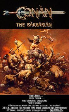 Conan the Barbarian (1982)(Rare Movie Poster)