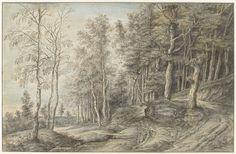 Lucas van Uden   Boslandschap, Lucas van Uden, 1605 - 1673  