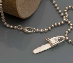 Cute Chainsaw necklace