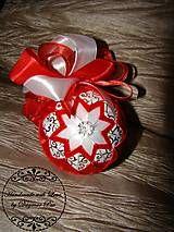 Drobnosti - Vianočná guľa ,,Christmas star