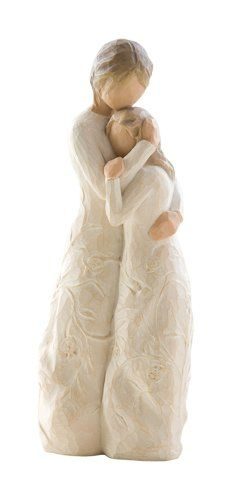 Willow Tree ® sculptures, angels and figurines from are designed by Susan Lordi to represent the qualities and sentiments that make us feel close to others. Willow Tree ® products make wonderful gifts. Willow Tree Statues, Willow Figurines, Willow Tree Angels, Willow Tree Family, Willow Tree Figuren, Diy Laine, Collectible Figurines, To My Daughter, Daughters