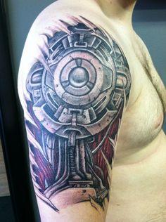 mechanical gears tattoos - Google Search