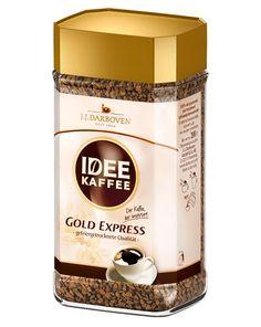 IDEE Gold Express Instant Löslicher Kaffee Set 2 x 100 g | online kaufen bei Gourvita