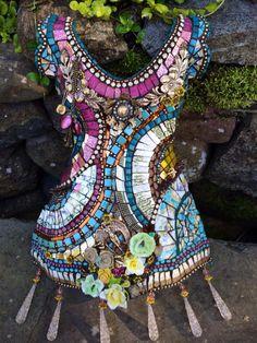 January, 2015 Mosaic Dress Workshop/ Florida (Doreen Bells' beautiful piece)