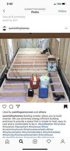 Building A Tiny House, Energy Efficiency, Cool Stuff, Storage, Simple, Furniture, Home Decor, Purse Storage, Energy Conservation