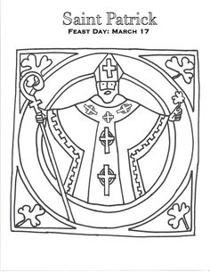 irish flag coloring page st patrick s day crafts pinterest