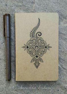 Com anoushka irukandji 2015 Mandala Doodle, Zen Doodle, Easy Mandala Drawing, Doodle Art Drawing, Art Drawings, Mandela Art, Zentangle Patterns, Zentangles, Doodle Designs