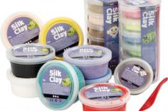 Silk Clay White Out Tape, Clay, Silk, Clays, Modeling Dough