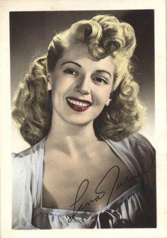 Lana Turner 1940's hair