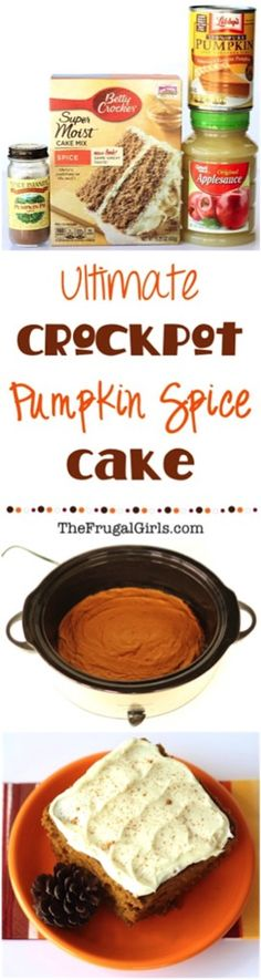 Pumpkin Spice Dump Cake Recipe! {just 4 ingredients} (Chicken Breastrecipes)