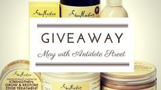Win £100 of Shea Moisture products in the May Giveaway with Antidote Street and AfroDeity