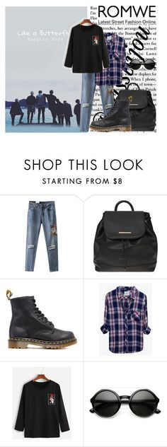 """""""Butterfly ..."""" by missbijou ❤ liked on Polyvore featuring Dorothy Perkins, Dr. Martens, Rails and ZeroUV"""