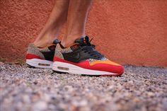 Nike #airmax1 #carrot #safaripack