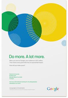 Google University Recruitment by Factor Design | Allan Peters' Blog
