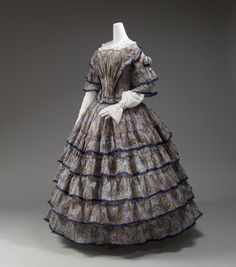Afternoon Dress | c. 1853