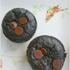 Super Skinny Chocolate Muffins {copycat Vita Tops}