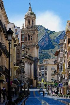 Jaén City in Andalusia, Spain. Strange to think my family is from such a beautiful place in Southern Spain and i have yet to visi Places Around The World, Oh The Places You'll Go, Places To Travel, Travel Destinations, Places To Visit, Beautiful World, Beautiful Places, Wonderful Places, Beautiful Pictures