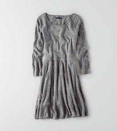 AEO Fit & Flare Sweater Dress