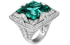 cartier biennale ring | Cartier High Jewellery platinum ring (price on request; Cartier )