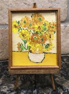 """Daily Paintworks - """"Inspired by van Gogh"""" - Original Fine Art for Sale - © Kali Parsons"""
