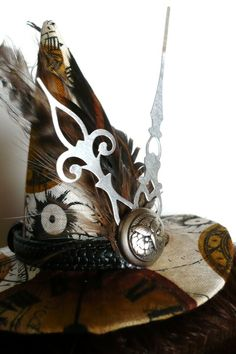 Steampunk witch hat! Woohoo! by jami