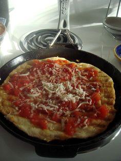 Arabafelice in cucina!: Pizza senza...forno!