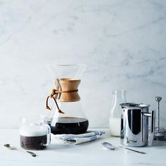 Coffee feels extra luxurious with a little home-frothed milk from this stainless steel milk frother. #Food52