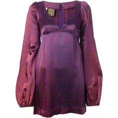 Biba Vintage bell sleeve mini dress
