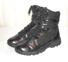 Altama Lite Speed Men's Black 3468 Lace Up Tactical Military Boot Size 13 R #Altama #Military