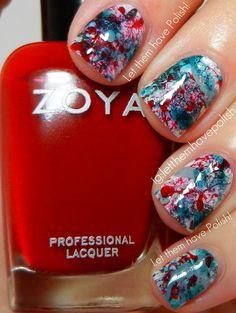 Zoya Week! Zoya Fall Splatter | Let them have Polish!