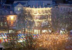 Christmas Market, Norwich, UK http://www.aboutbritain.com/towns/norwich.asp