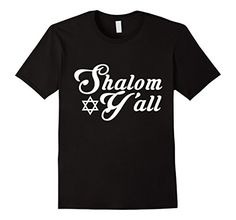 Shalom Y'all T-shirt Funny Hanukkah Menorah Jewish Holiday