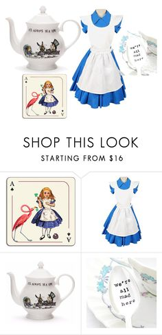 """""""We're all mad here!"""" by marijana-vitas on Polyvore featuring Avenida Home"""