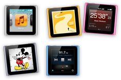 iPod Nano. I would choose the orange one :) I would love to combine it with some wrist band to create a watch.
