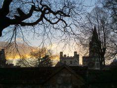 A Walk in Oxford at Dusk ~ Sidewalk Safari