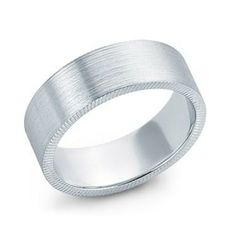 Men's Etched Satin Finish Band - RB1073