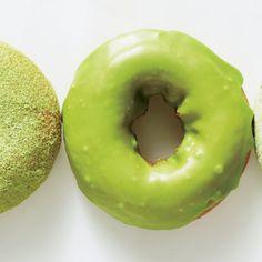 Matcha Doughnuts Recipe. Bon appetit