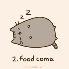 Even when words fail, I can always count on my favorite feline to prevail: Pusheen! Pusheen Gif, Pusheen Love, Kawaii Drawings, Cute Drawings, Pusheen Stormy, Kawaii Cat, Kawaii Stuff, Cat Life, Cat Memes