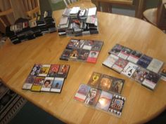 Music Audio Cassettes Cassette Tape Lot Vintage 100+ Untested 1960s-1990s 33 VGs #1960s